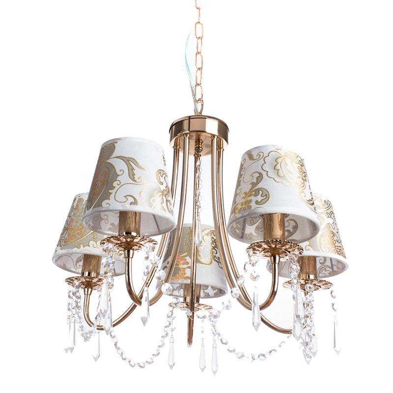 Люстра подвесная Arte Lamp Armonico A5008LM-5GO