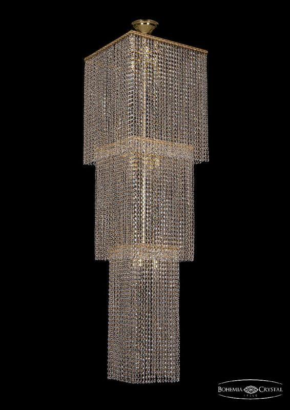 Потолочная люстра Bohemia Ivele Crystal 2180/45-160 G