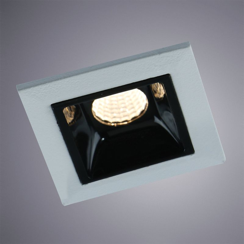 Встраиваемый светильник Arte Lamp Grill A3153PL-1BK