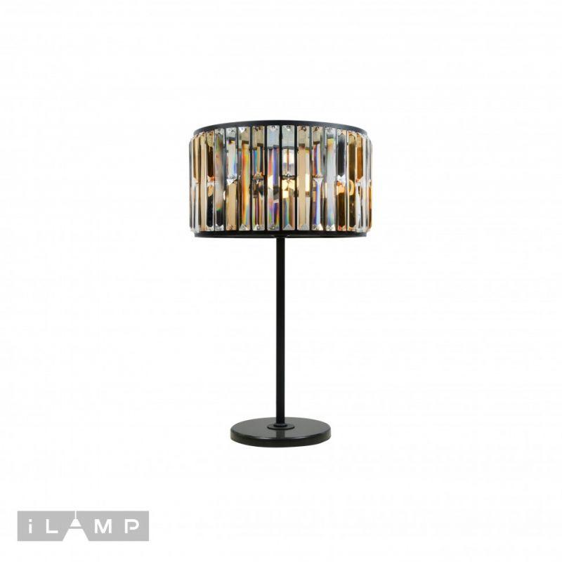 Настольная лампа iLAMP Royal 10390-3T BK