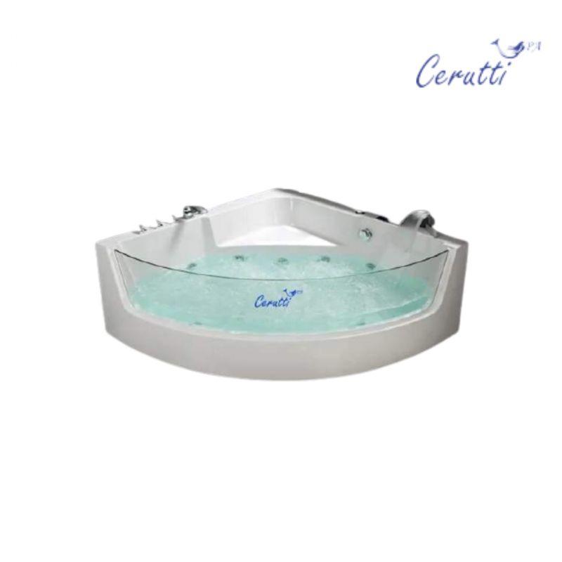 Акриловая гидромассажная ванна Cerutti C-401 1500x1500x580 7198