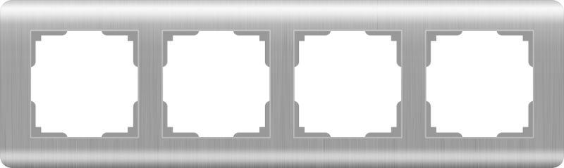 Рамкана4поста(серебряный) W0042106