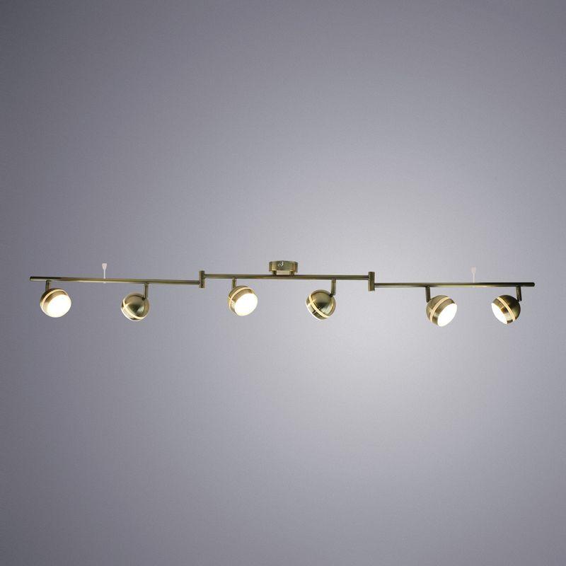 Спот Arte Lamp Venerd A6009PL-6AB