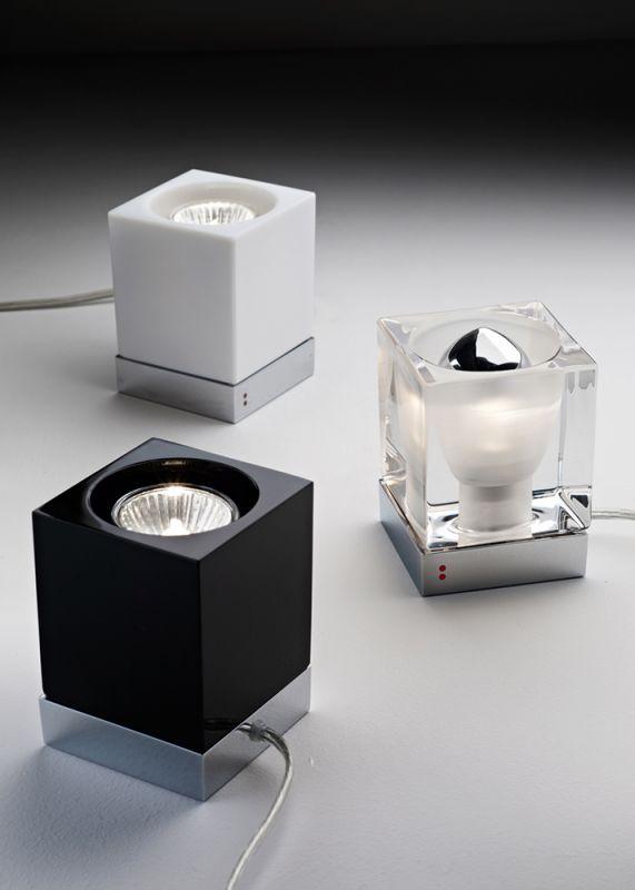 Настольная лампа Fabbian Cubetto D28B0100 Rosso. Фото №2