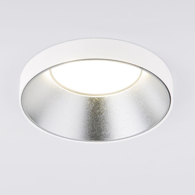 Встраиваемый точечный светильник белый Elektrostandard 112 MR16