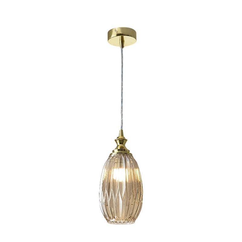 Подвесной светильник Newport 6140 6141/S gold/cognac