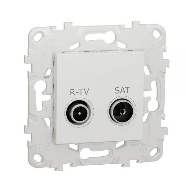 Розетка R-TV/ SAT Schneider Electric Unica NEW BD-1582401