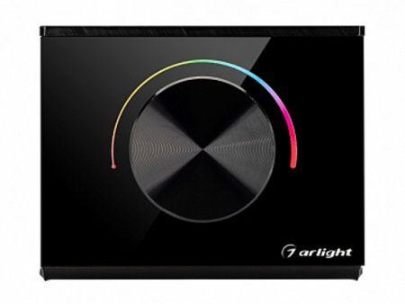 Панель ARLIGHT Rotary SMART-P100-RGB Black (3V, 2.4G) 2977990319574