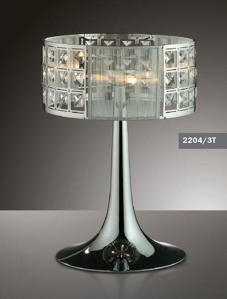Лампа настольная Odeon Light Korta 2204/3T