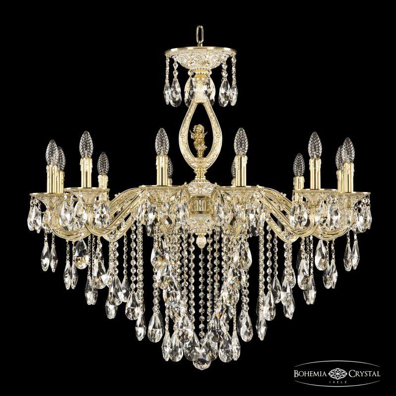 Люстра Bohemia Ivele Crystal 71402/12/300 B GW FA3M