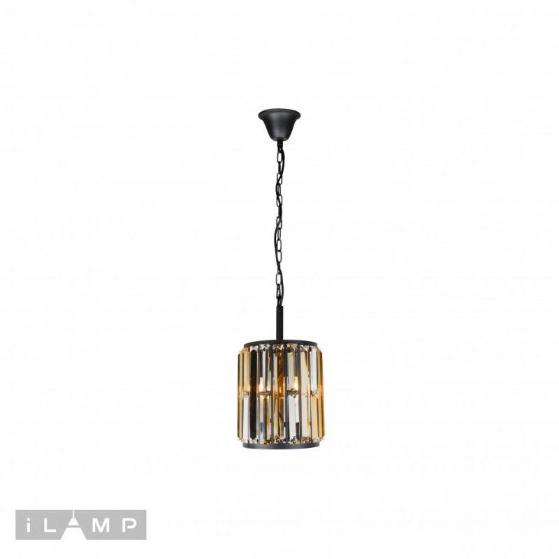 Подвесная люстра iLAMP Royal 10390-1P BK