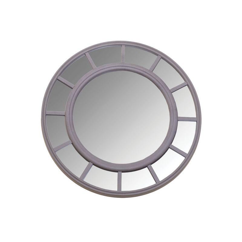 Настенное зеркало круглое Garda Decor LM748 (60 см в диаметре)