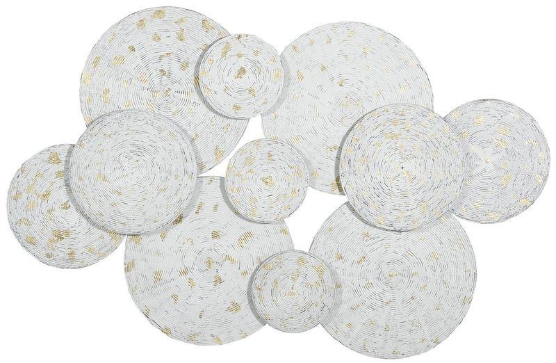 Панно Белые круги 18395