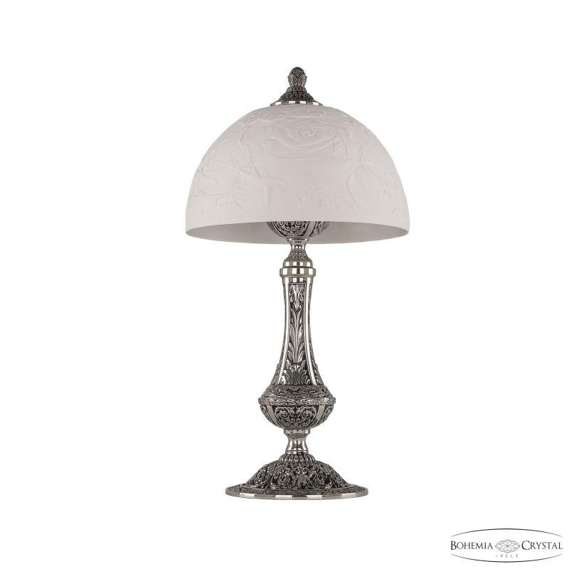 Настольная лампа Bohemia Ivele Crystal 71100L/25 NB Rose
