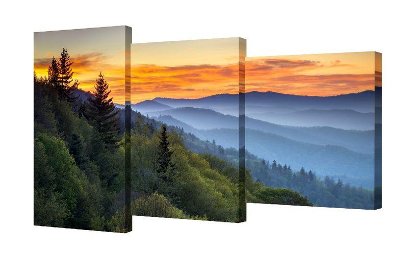 Мини модульная картина Пейзаж TL-MM1001