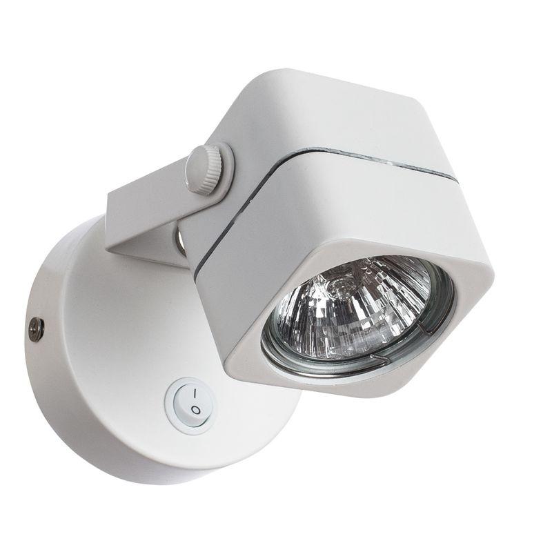 Спот Arte Lamp Lente A1314AP-1WH