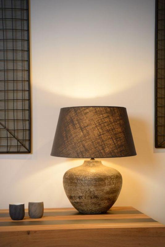 Настольная лампа Lucide RAMSES 47504/81/97. Фото №1