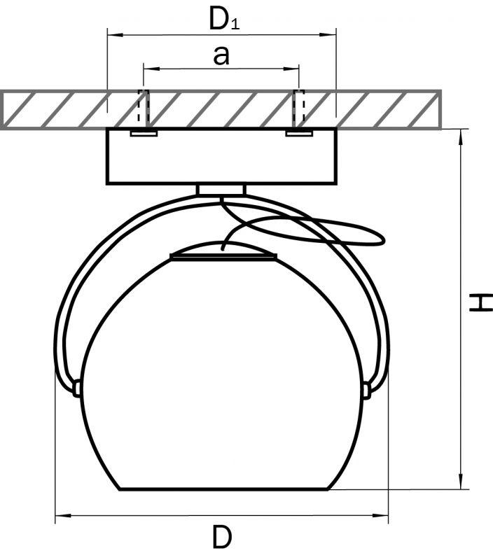 Светильник точечный накладной Fabi 110514. Фото №2