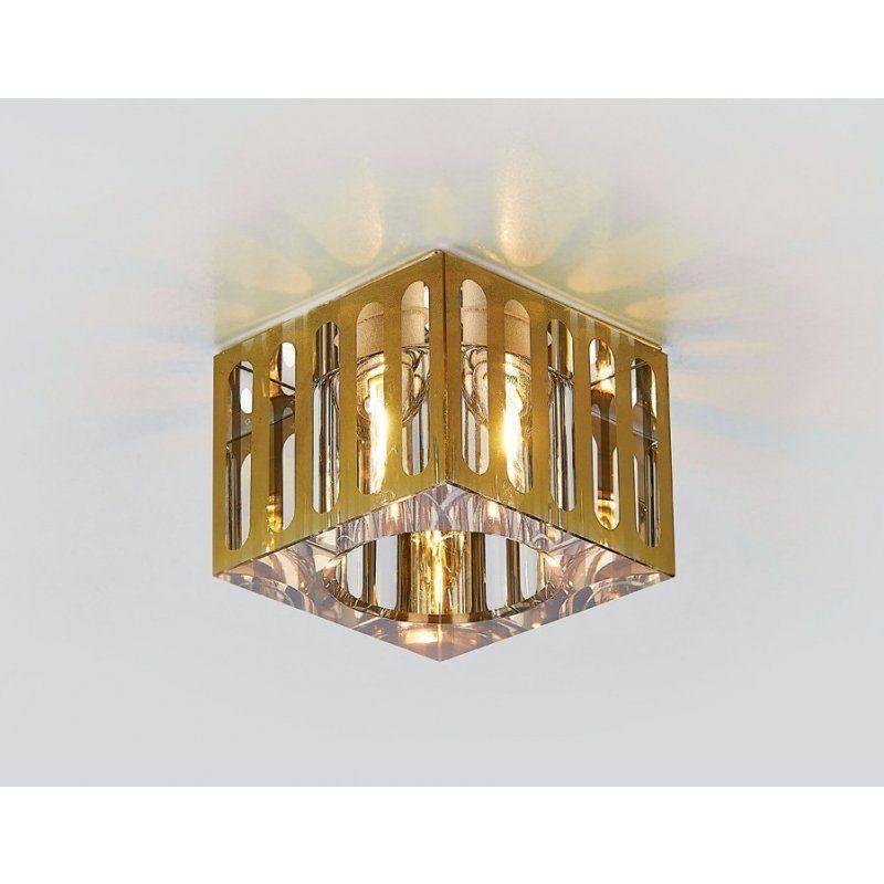 Встраиваемый светильник D1014 GD