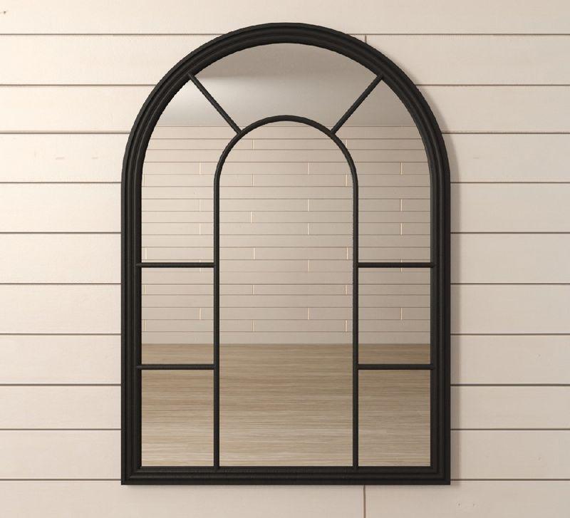 """Зеркало """"Venezia"""" черное 201-20BLKETG"""