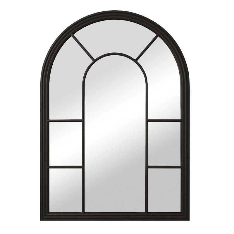 """Зеркало """"Venezia"""" черное 201-20BLKETG. Фото №1"""