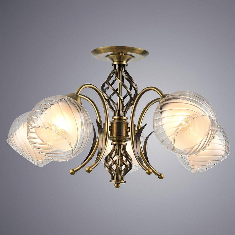Люстра потолочная Arte Lamp Dolcemente A1607PL-5AB