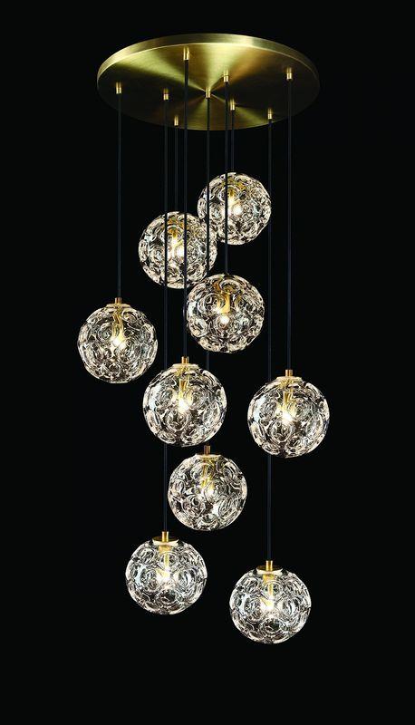 Светильник подвесной Glassburg Light LUNA GB_5003