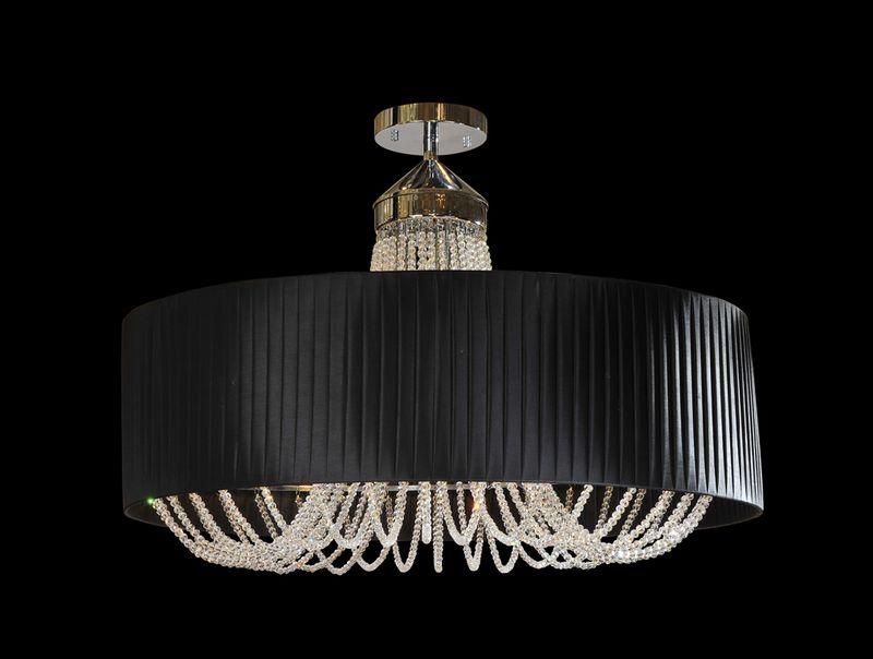 Потолочный светильник 1400 1406/S black