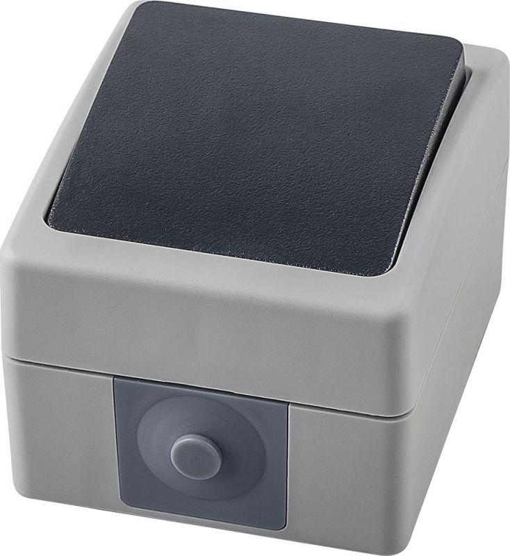 Выключатель 1-клавишный Stekker Велена PSW10-112-54 32756