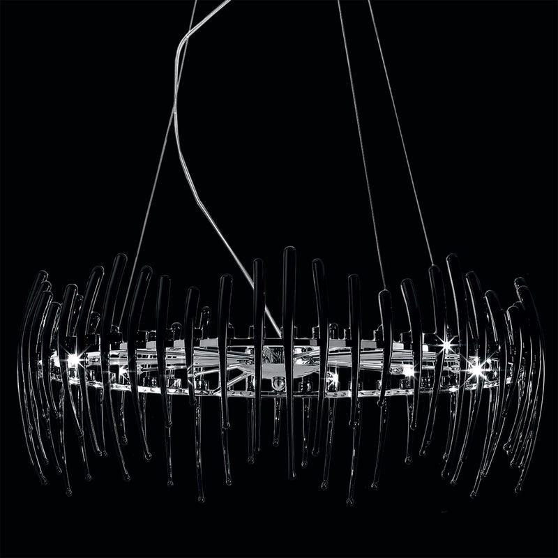 Подвесная люстра Арго Черный CL252153. Фото №3