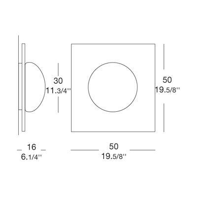 Настенно-потолочный светильник Leucos GIO 0404050364802. Фото №5