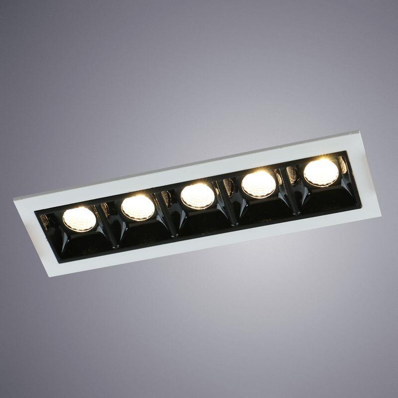 Встраиваемый светильник Arte Lamp Grill A3153PL-5BK
