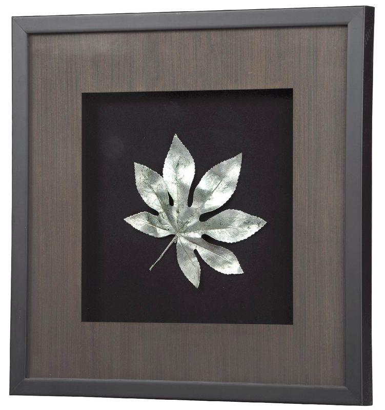 Панно Большие листья-4 9835D. Фото №1