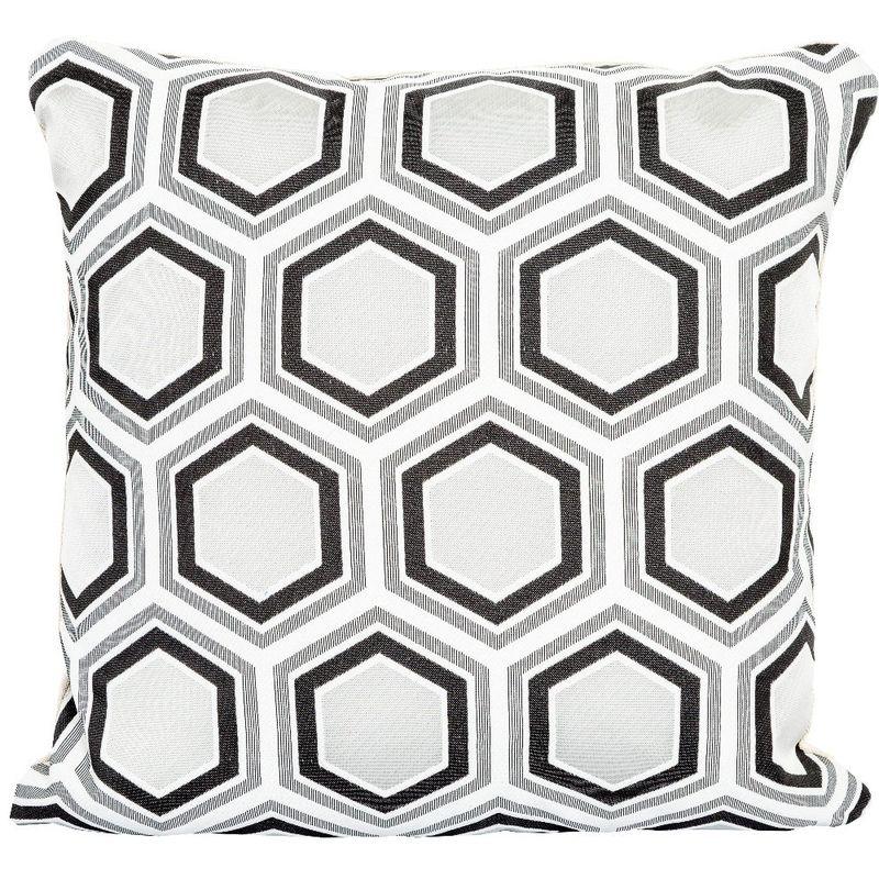 Интерьерная подушка Tomette Noir&Blanc 3113038