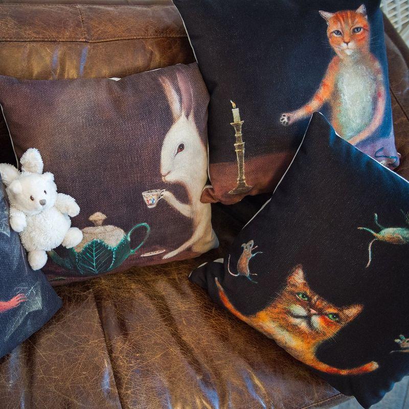 Интерьерная подушка Кошки-мышки 4112143. Фото №2