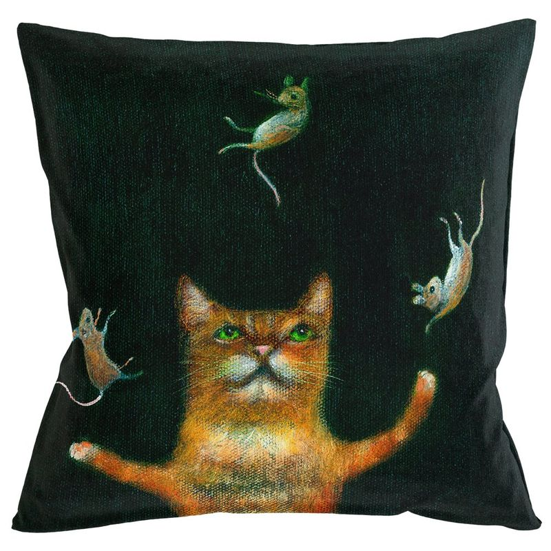Интерьерная подушка Кошки-мышки 4112143. Фото №3