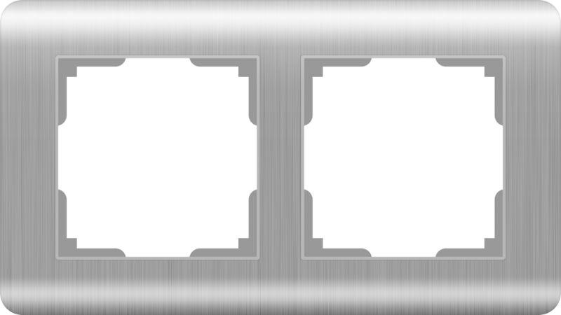 Рамкана2поста(серебряный) W0022106
