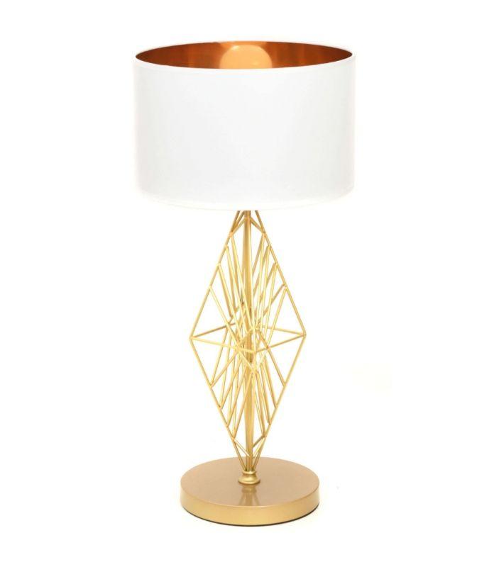 Настольная лампа Lumina Deco Salvari LDT 5533 GD+WT