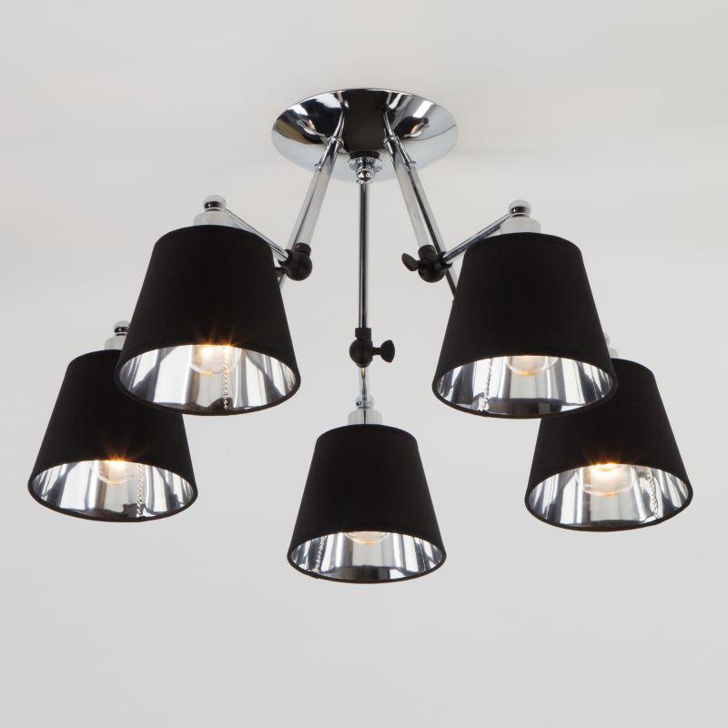 Потолочный светильник Eurosvet Koby 70063/5 хром