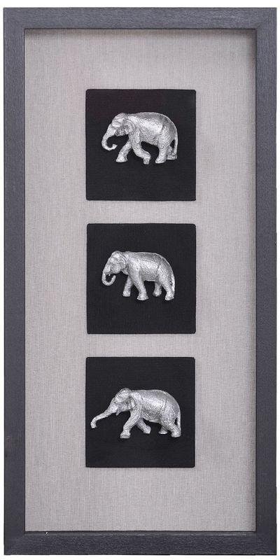 Панно Индийские слоны-1 20937A