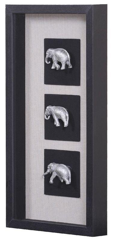 Панно Индийские слоны-1 20937A. Фото №1