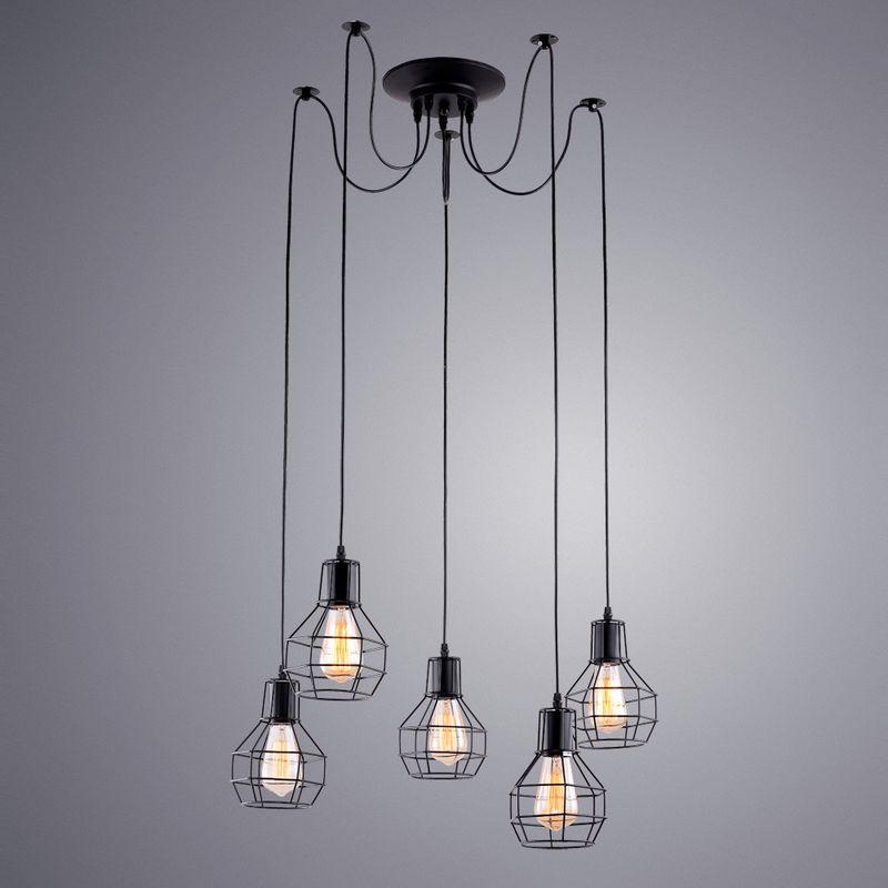 Светильник подвесной Arte Lamp A1109 A1109SP-5BK