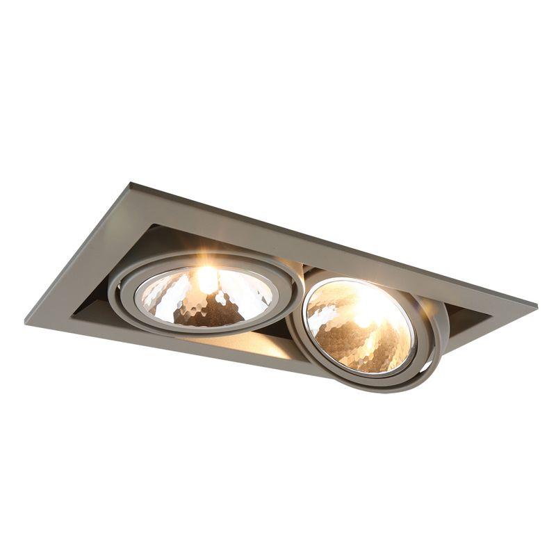Уличный светильник Arte Lamp Cardani semplice A5949PL-2GY