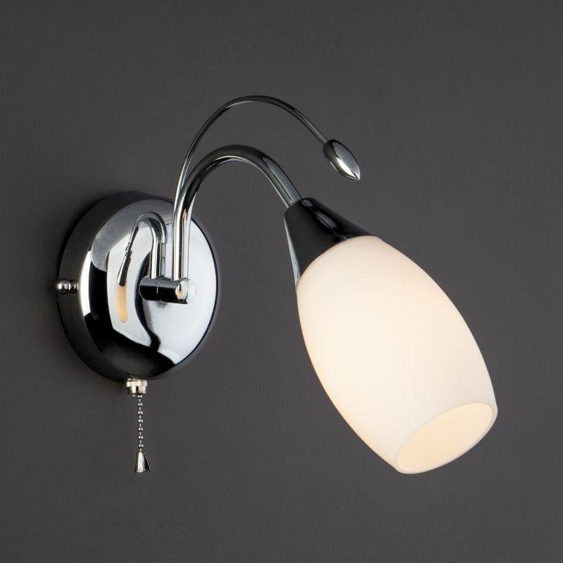 Настенный светильник Eurosvet Ginevra 22080/1 хром. Фото №2