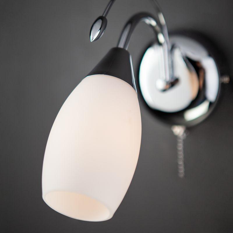 Настенный светильник Eurosvet Ginevra 22080/1 хром. Фото №3