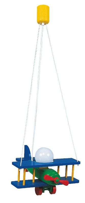 Подвесной детский светильник (самолет) IKA 70970/70