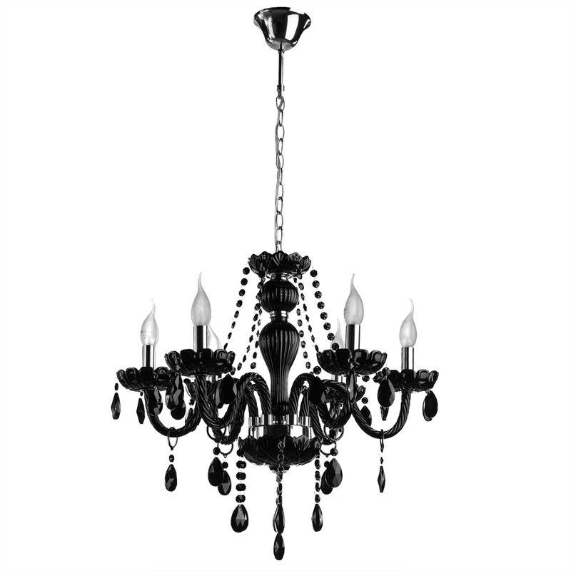 Люстра подвесная Arte Lamp Teatro A3964LM-6BK
