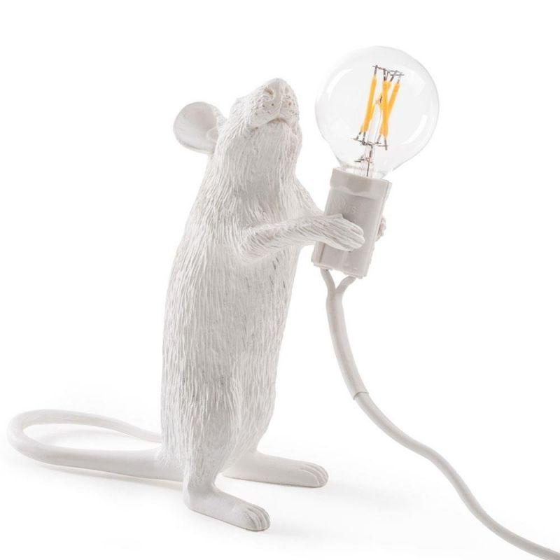 Лампа светодиодная Seletti Mouse Lamp 14884L. Фото №1