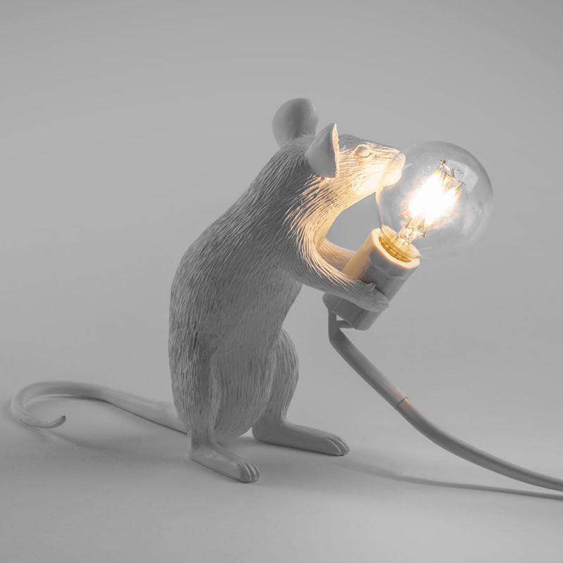 Лампа светодиодная Seletti Mouse Lamp 14884L. Фото №2