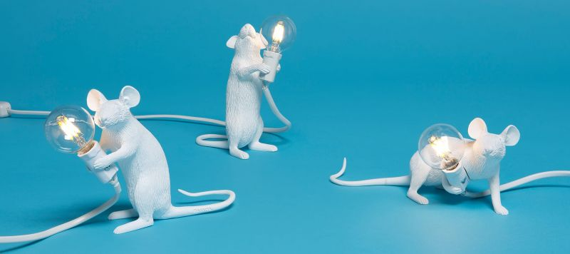 Лампа светодиодная Seletti Mouse Lamp 14884L. Фото №3